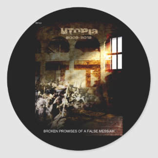 Utopia Classic Round Sticker