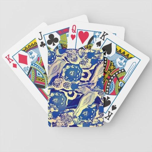 "Utopia Design  ""Blues Guitar Protagonist"" cards Poker Cards"