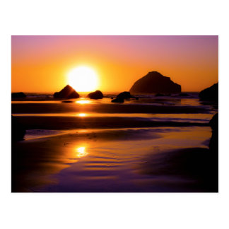 Utopia - Face Rock, Bandon, Oregon Post Card