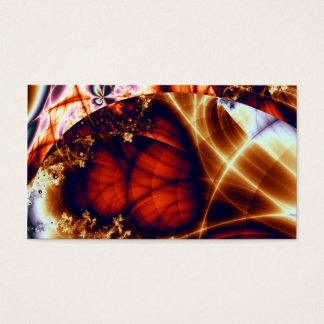 Utopia · Fractal Art · Maroon Business Card