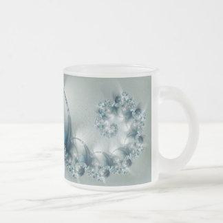 Utopia fractal taza de cristal
