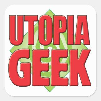 Utopia Geek v2 Square Sticker