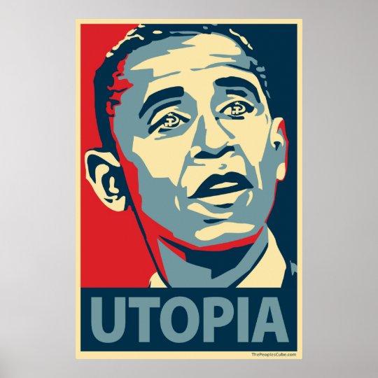 Utopia - Obama parody poster