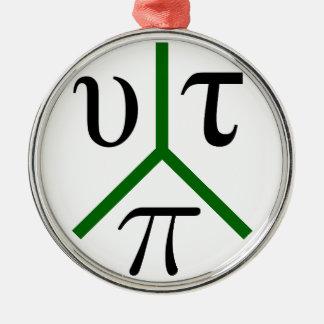 Utopia peace metal ornament