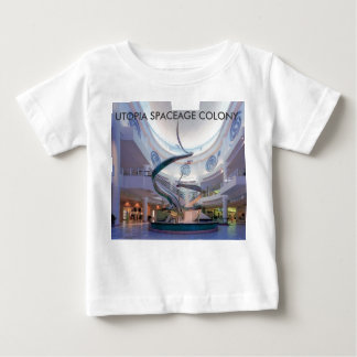 UTOPIA SPACEAGE COLONY. BABY T-Shirt