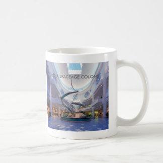 UTOPIA SPACEAGE COLONY. COFFEE MUG