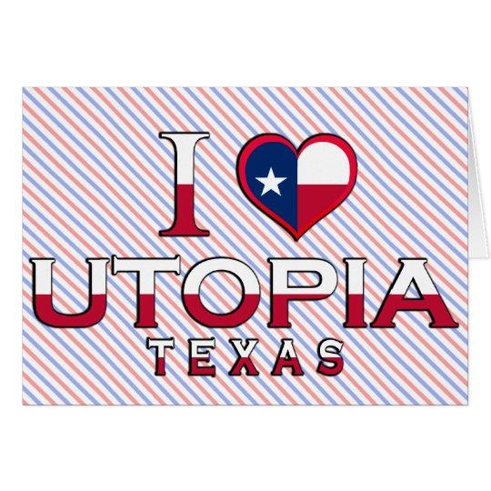 Utopia �, Texas Card