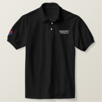 UTOPIAN PHYSICIAN EMBROIDERED POLO SHIRT