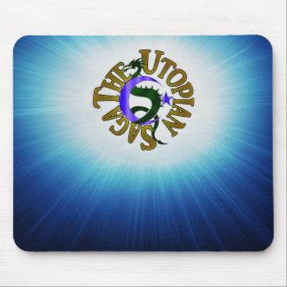 Utopian Saga Logo mousepad