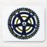 Utopian society will have bicycles mouse pad