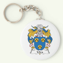 Utra Family Crest Keychain