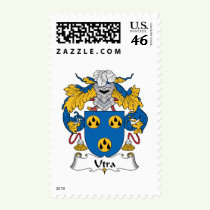 Utra Family Crest Stamps