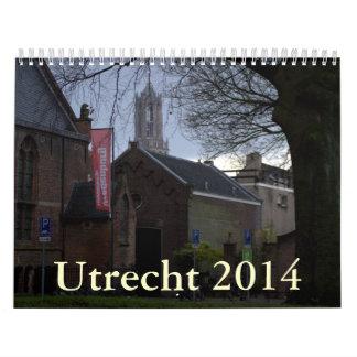 Utrecht 2014 calendar