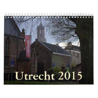 Utrecht 2015 calendar