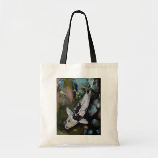 Utsuri Koi Fish Tote Bag