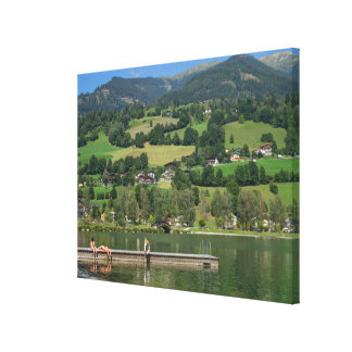 Uttendorfer See Canvas Print
