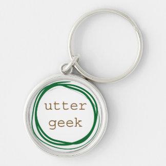 Utter Geek Keychain
