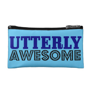 Utterly Awesome Small Cosmetic Bag