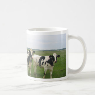 Utterly Delightful Cows! Classic White Coffee Mug