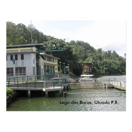 utuadodosbocas2009 (12), Lago dos Bocas, Utuado... Postcard