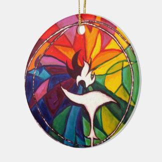 UU Chalice Circle Ornament Unitarian Universalist