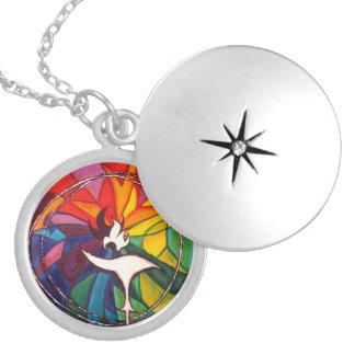 UU Chalice Locket Jewelry Unitarian Universalist