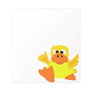 UU- dibujo animado divertido del arte de Bigfoot d Libretas Para Notas