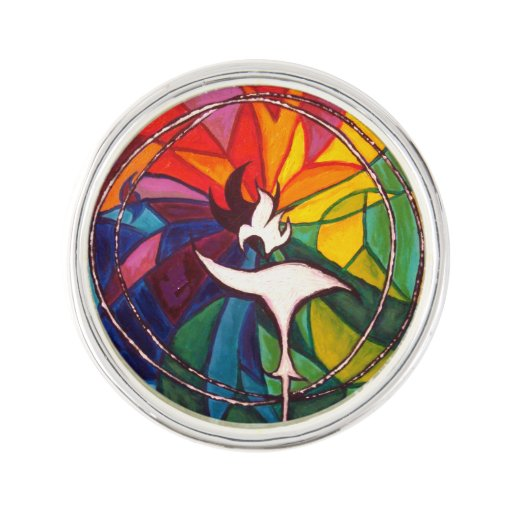 Our Symbol The Flaming Chalice: UU Flaming Chalice Lapel Pin UnitarianUniversalist