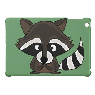 UU- Funny Raccoon Cartoon Art Cover For The iPad Mini