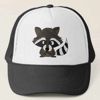 UU- Funny Raccoon Cartoon Art Trucker Hat