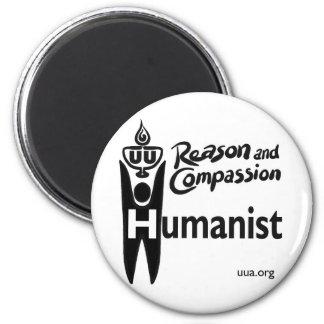 UU Humanist 2 Inch Round Magnet