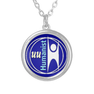 UU Humanist Round Pendant Necklace