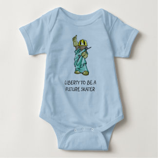 UU STATUE-LIBERTY TO BE! BABY BODYSUIT