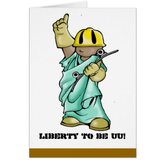 UU STATUE-LIBERTY TO BE! CARD