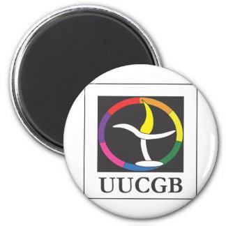 UUCGB Logo 2 Inch Round Magnet