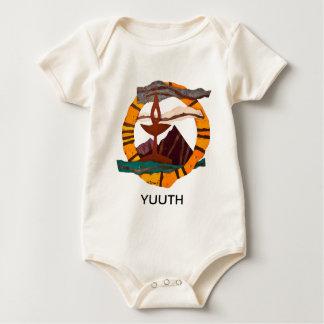UUSS chalice, Unitarian Universalist, baby,YUUTH Baby Bodysuit