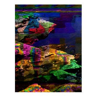 """""""UV Bronze Age"""" Art Postcard"""