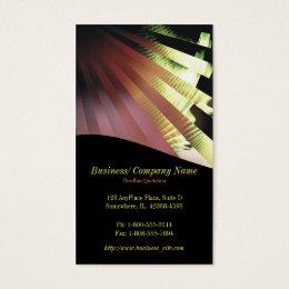 UV Rays Company/Business Card