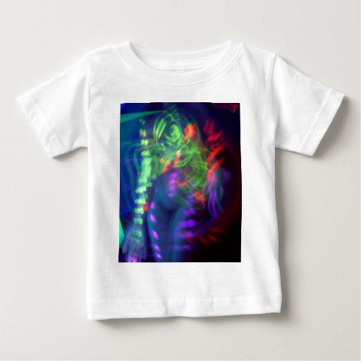 UV Warped Girl Baby T-Shirt