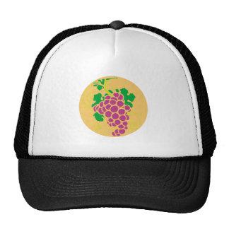 Uva de grapes gorros bordados