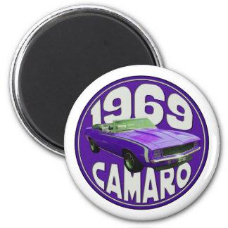 Uva estupenda 1969 del deporte de Camaro de la púr Iman De Frigorífico