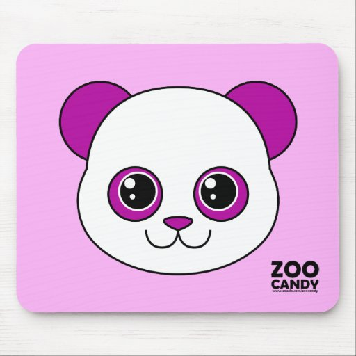 Uva linda de la panda mouse pad