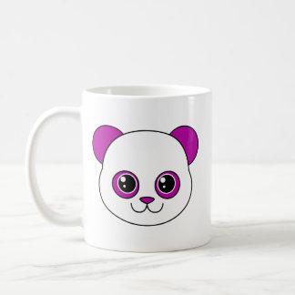 Uva linda de la panda taza básica blanca