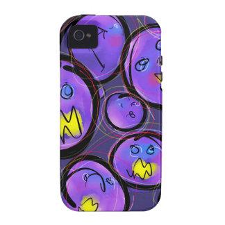 Uva Nutes iPhone 4 Carcasas