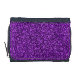 Uva púrpura Amethyst floral del vintage retro