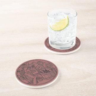 Uva Stompers - práctico de costa redondo Posavasos Para Bebidas