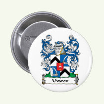 Uvarov Family Crest Button