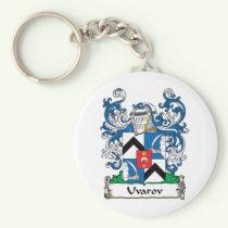 Uvarov Family Crest Keychain