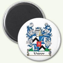 Uvarov Family Crest Magnet