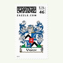 Uvarov Family Crest Stamps